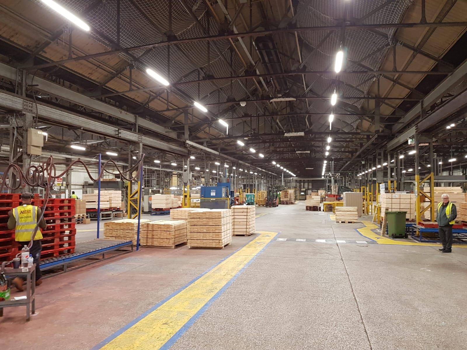 Warehouse LEDs